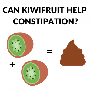 Kiwifruit can help your constipation learn exactly how in this post by Andrea Hardy RD.